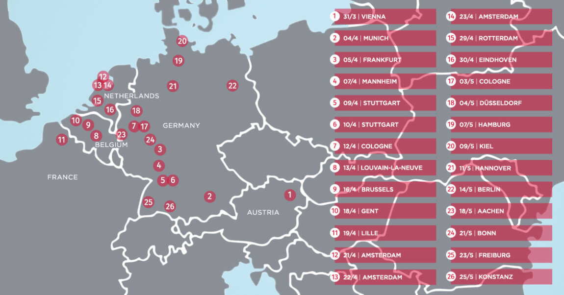 Mapa Evrope 3 Tomislav Perko